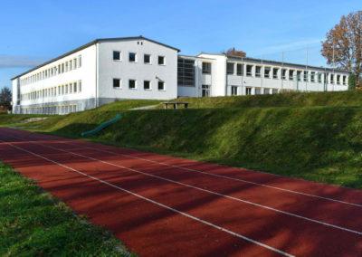 iQ3-Cellulose Dämmung für die Grund- und Hauptschule Hacklberg in Passau