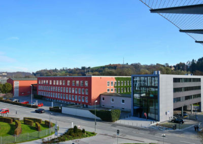 iQ3-Cellulose Dämmung für das Adalbert-Stifter-Gymnasium in Passau