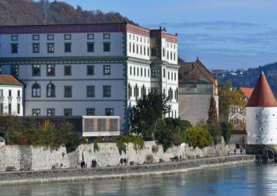 iQ3-Cellulose Dämmung für das Gymnasium Leopoldinum, Michaeligasse in Passau
