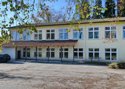 iQ3-Cellulose Dämmung für den Kindergarten Schalding links der Donau