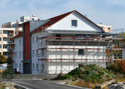 iQ3-Cellulose Dämmung für ein Mehrfamilienhaus in Günzburg